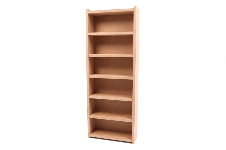 Bookcase for dollhouse to assemble